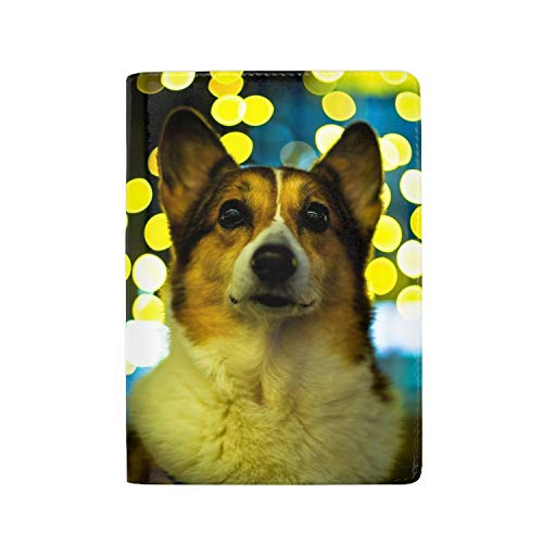 - Passport Holder Cover Travel Wallet Case (Welsh Corgi)
