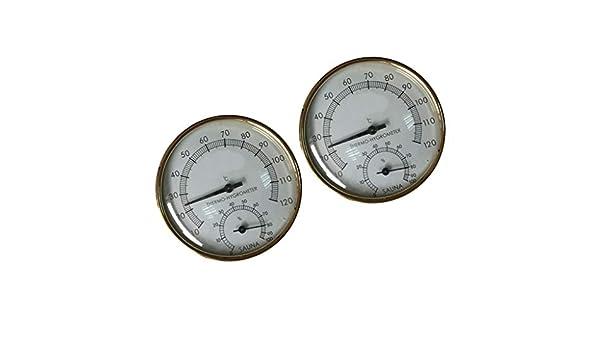 2X Termómetro de Humedad Temperatura de Piscina Piezas de ...