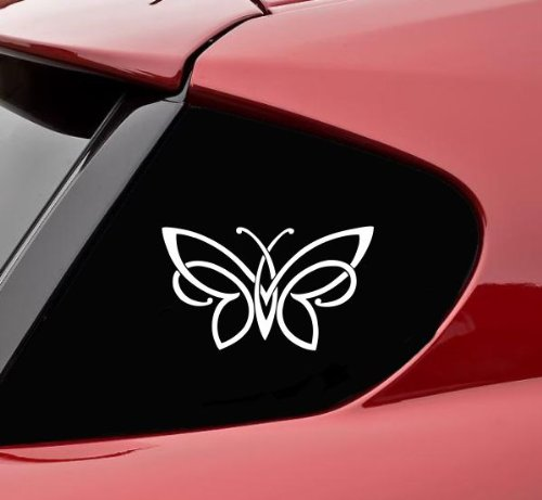 Slap-Art Celtic knot butterfly vinyl decal bumper sticker