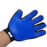 #7: I Plus Inc. New Improved 2 in 1 Pet Grooming Glove Hair Removal Deshedding, Massage Bathing Brush Long Short Fur Dogs, Cats, Horses
