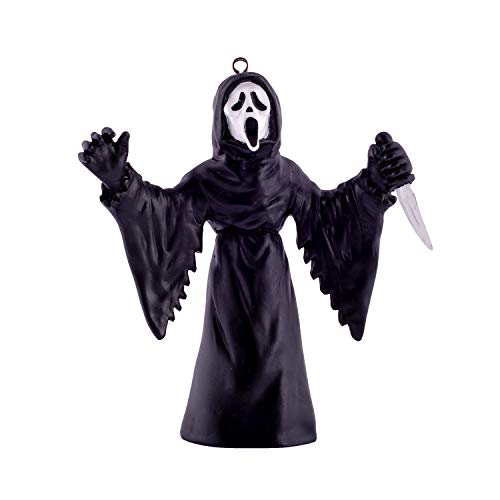 HorrorNaments Ghost Face Ornament - Scary Prop and Decoration for Halloween, Christmas, Parties and Events ()