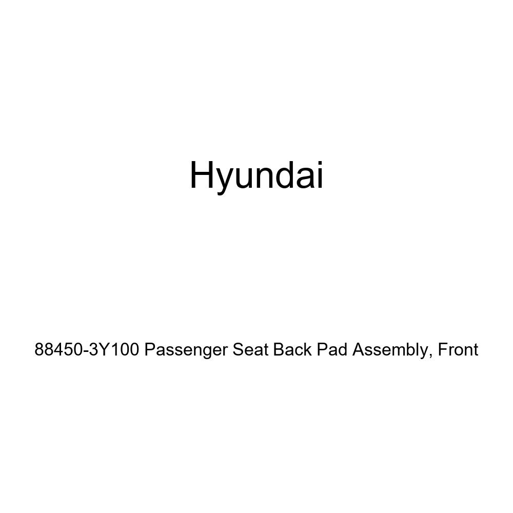 Front Genuine Hyundai 88450-3Y100 Passenger Seat Back Pad Assembly
