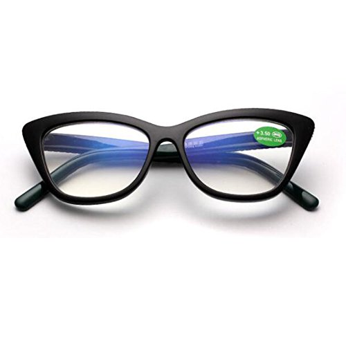 Frame 1 Eye Noir Prescription Rétro Vert 3 Femmes Lunettes Cat 2 Vue De Inlefen Presbytie 5 5 0 Mode 3 5 0 2 Lecture wxqvYB07