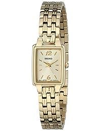 Seiko Women's Dress -Tone Watch Gold SXGL62