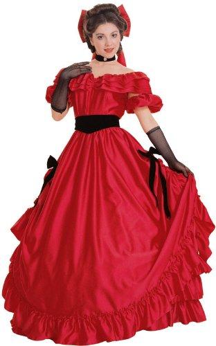 lady antebellum red dress - 2