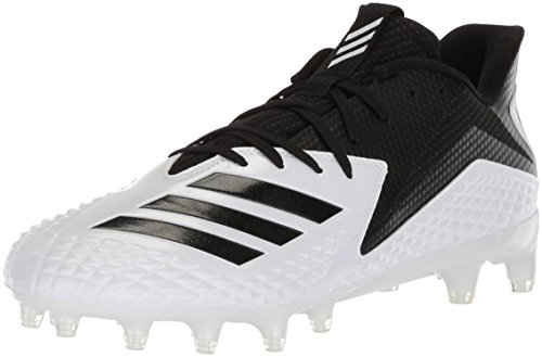 adidas Performance Men's Freak X Carbon Low Football Shoe, White/Black/Black, 7.5 M US