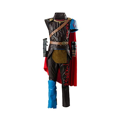 Thor 3 Ragnarok Thor Costume Outfit Whole Set,X-Large -