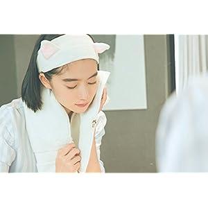 3 PCS Coral Velvet Cat Ear Makeup Shower Face Washing Headband Hairband Hair Accessories Best Makeup Headband Tool for Women