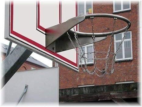 Loggyland Profesional Cesta de Baloncesto Galvanizado con ...