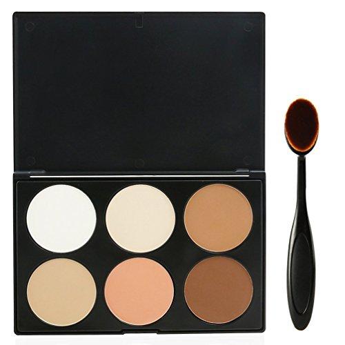 EVERMARKET Makeup Contour Kit Highlight and Bronzing Powder