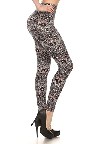 SEJORA Printed Leggings Seamless Patterned product image