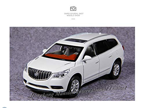 (Diecasts & Toy Vehicles - Luxury 1:32 Scale Diecast Alloy Metal SUV Car Model for Buick Enclave Collection Model Pull Back Sound&Light Toys Vehicle Car - by HUKAZ - 1)