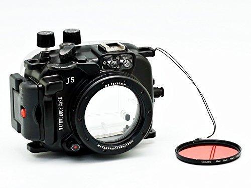 CamDive-40M130FT-Underwater-waterproof-camera-housing-for-Nikon-1-J5