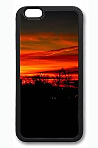 iPhone 6 Case - Sunrise 30 Beautiful Scenery Pattern Rubber Black Case Cover Skin For iPhone 6 (4.7 inch)