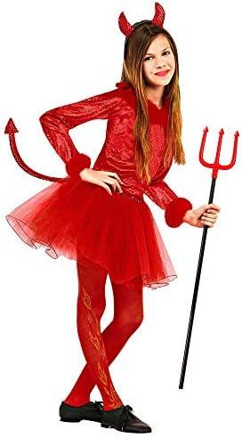 Unbekannt Disfraz de diablesa para mujer, talla 128 , color/modelo ...