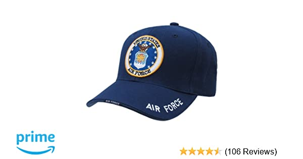 Amazon.com: United States US Air Force official seal design baseball cap: Sports & Outdoors