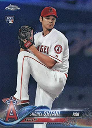 Image result for 2018 topps chrome shohei ohtani