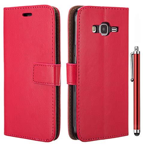 Amaze!uk Galaxy J3 2016 Case Cover, Samsung J3 2016 Premium Leather Slim Design Shockproof Wallet Flip Phone Cover for…