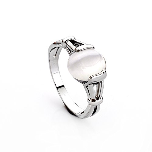 lureme Fashion Alloy Twilight Saga Bella Natural Cateye Stone Women's Ring-U (04001479-5)