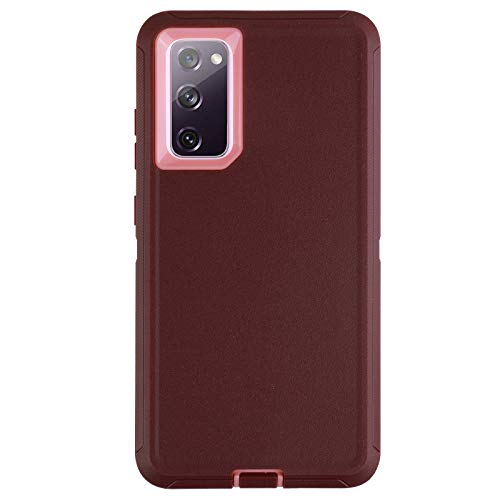 Co-Goldguard Case for Galaxy S20 FE 2020 5G Heavy Duty Cover 3 in 1 Durable Cover Shockproof Drop-Proof Shell for Samsung Galaxy S20 FE 6.5
