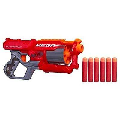 Nerf N-Strike Elite Mega New CycloneShock Blaster: Toys & Games [5Bkhe1104260]