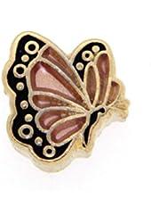 June Butterfly Enamel Birthmonth Charm for Floating Lockets