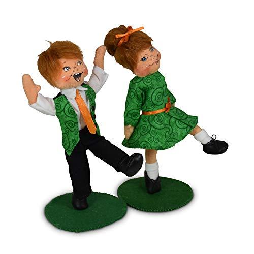 Annalee Dolls 6in Irish Step Dancing Kids