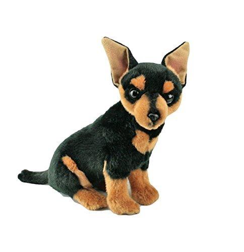 Bocchetta Plush Toys Border Chihuahua Dog Sitting Soft Plush