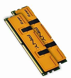 PNY MD4096KD3-1333 Optima 4GB Dual Channel Kit DDR3 1333 MHz PC3-10666 Desktop DIMM Memory Kit