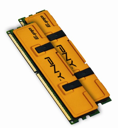 (PNY Optima MD4096KD3-1333 4GB Dual Channel Kit DDR3 1333 MHz PC3-10666 Desktop DIMM Memory Kit)