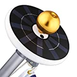 Solar Flag Pole Light 32 LEDs, FEELLE Super Bright Solar Powered Flagpole Light Outdoor Waterproof Downlight for Most 15 to 25 Ft Flag Pole Auto On/Off Night Light