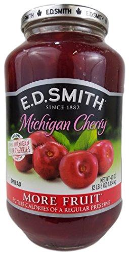 E. D. Smith Cherry Spread 40 Oz Large Jar