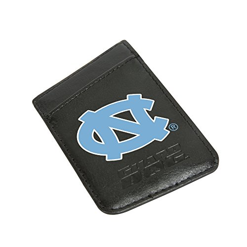 (Guard Dog North Carolina Tar Heels Card Keeper/Card Holder Leather Phone Wallet with RFID Protection)