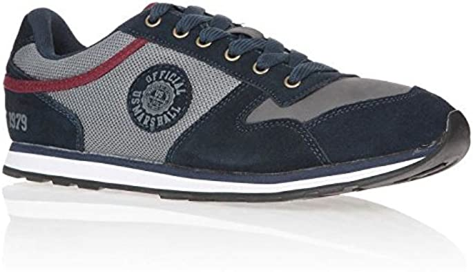 US Marshall Baskets Drone Chaussures Homme: