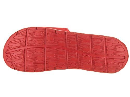 Pictures of NIKE Men's Benassi Solarsoft Sandals SB University Red/White 3