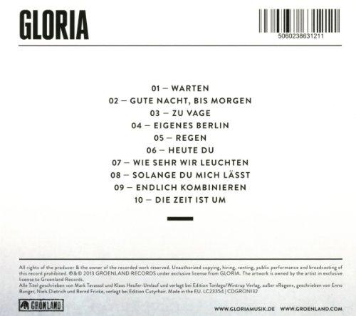 Gloria By Glorla Amazoncouk Music