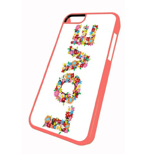 Love Flower Power - iPhone 5c Glossy Pink Case