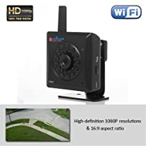 TriVision NC-239WF HD 1080P Wireless Home Security Camera System Wifi, Wired, DVR Micro SD Card Recording Internet Access, License Plate Recognition, Ir Night Vision, Motion Sensor, Plug and Play Apps on iPhone, Android, PC, Mac