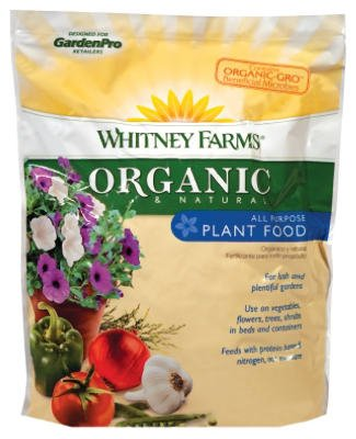Scotts Miracle Gro 109101 Organic & Natural Plant Food, All-Purpose, 4-2-3, 4-Lbs. - Quantity 6