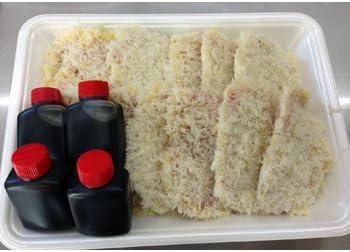 みーつ 福井のグルメ★ヒレカツでソースカツになるセット(5~6人前) -クール冷凍-
