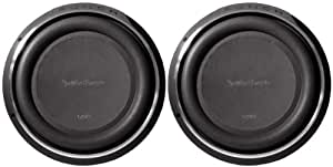"Pair of Rockford Fosgate P3SD212 12"" 1600W Dual 2 Ohm Shallow Subwoofer"