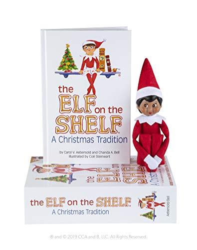 The Elf on the Shelf Girl Dark (Elf On The Shelf Games For Kids)