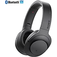 Sony MDR100 h.Ear on Wireless NC On-Ear Bluetooth Headphones w/ NFC - Charcoal Black - (Certified Refurbished)