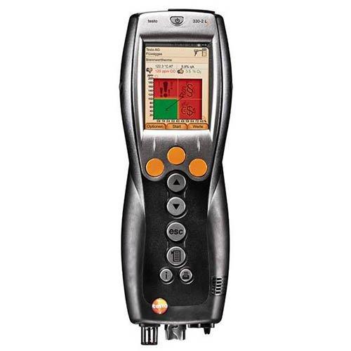 Testo 330-2G LL Kit 1 (0563 3772 70) Combustion Analyzer Kit w/ O2, CO, Temperature & Pressure (Ll Combustion Analyzer)