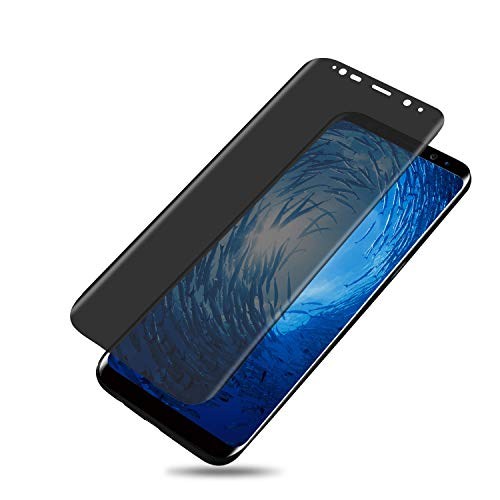 Galaxy Note 8 Screen Protector, GFortune Galaxy Note 8 Privacy Screen Protector, Galaxy Note 8 Privacy Temper, Galaxy Note 8 Privacy Tempered Glass Anti-Spy [3D Curved] [Case Friendly]