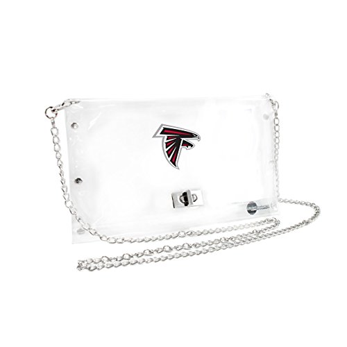 - NFL Atlanta Falcons Clear Envelope Purse