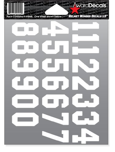 Football Decals For Helmets - 3
