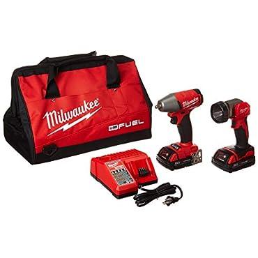 Milwaukee 2895-22CT M18 Fuel 3/8 Impact Wrench w/LED Light Kit