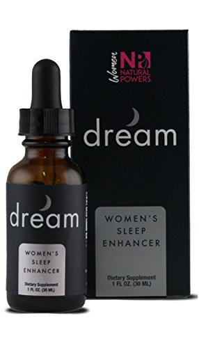 Dream - Natural Sleep Supplement for Women | Balances Hormones Naturally | Non-Habit Forming | Includes Valerian Root, Melatonin & More | Get the Deep Sleep & Rest You Deserve! | 30-Day Supply