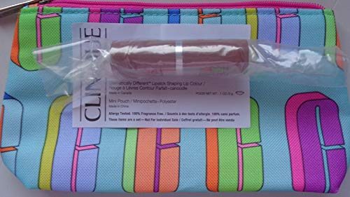 clinique Dramatically Different Lipstick Shaping Lip Colour 04 CANOODLE .1 oz / 3 g + Bag